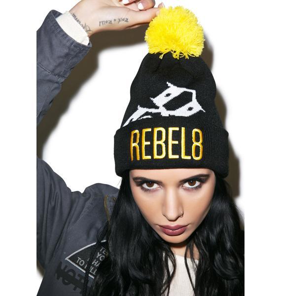 Rebel8 Big 8 Beanie