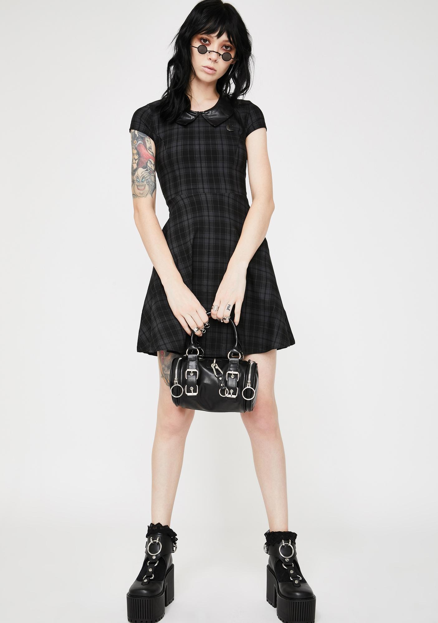 Killstar Tartan Darklands Doll Dress