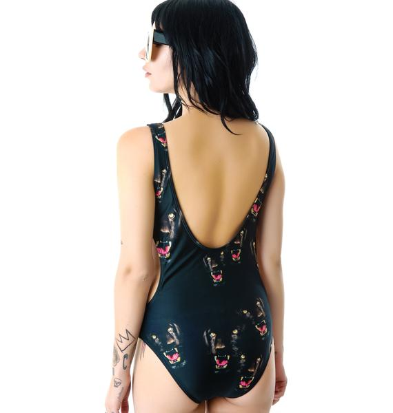 Beach Riot The Cougar Swimsuit