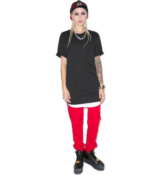 D9 Reserve Double Scoop Elongated Tee