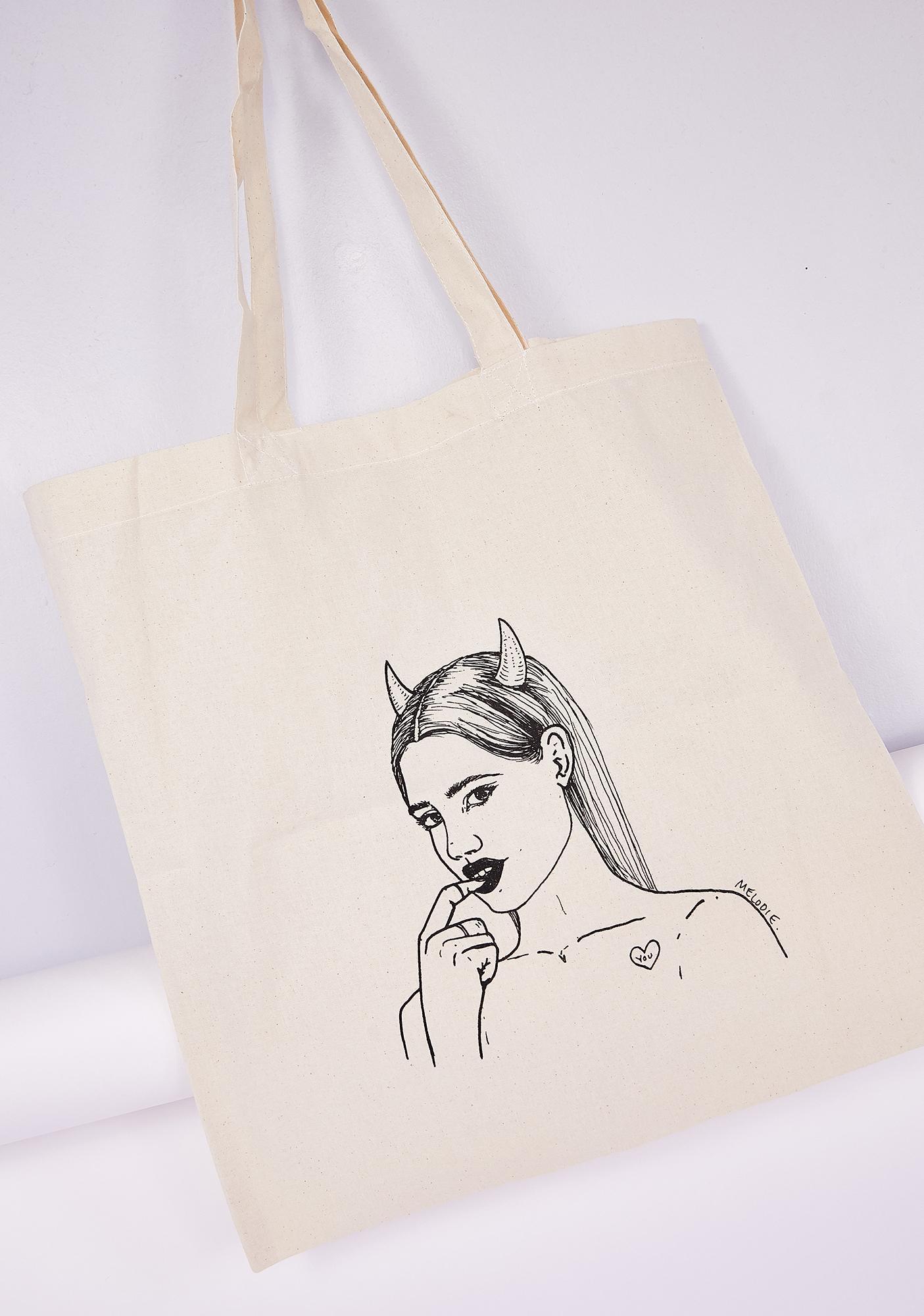 Melodie Evil Tote Bag