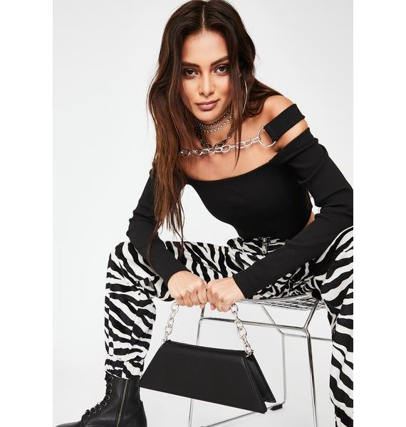 Sinfully Bitter Suite Chain Purse