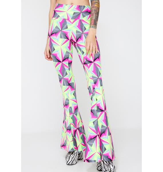 The Lyte Couture Neon Techno UV Flares