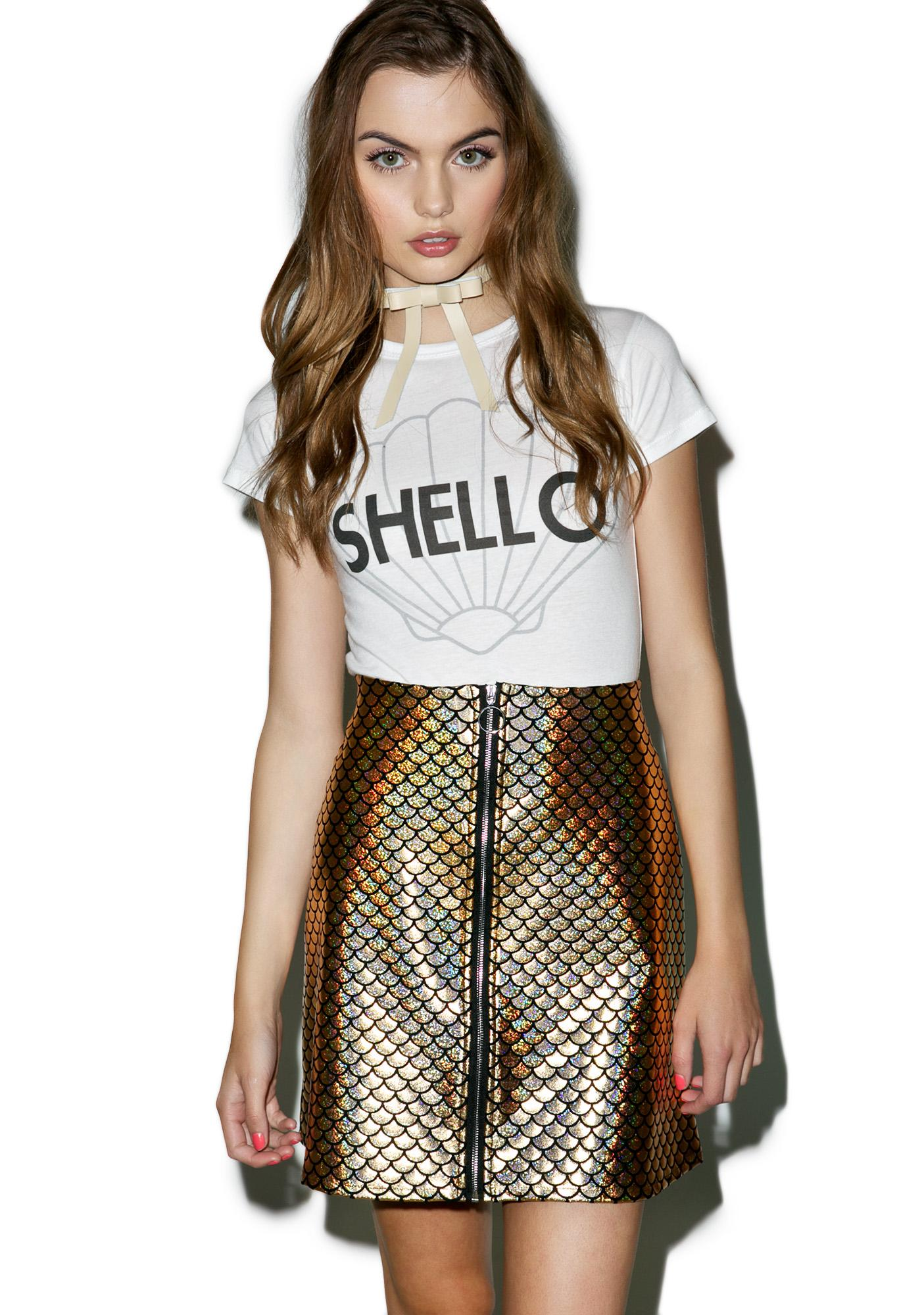 Valfré Mermaid Disco Skirt