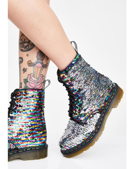 Rainbow 1460 Pascal Sequin Boots