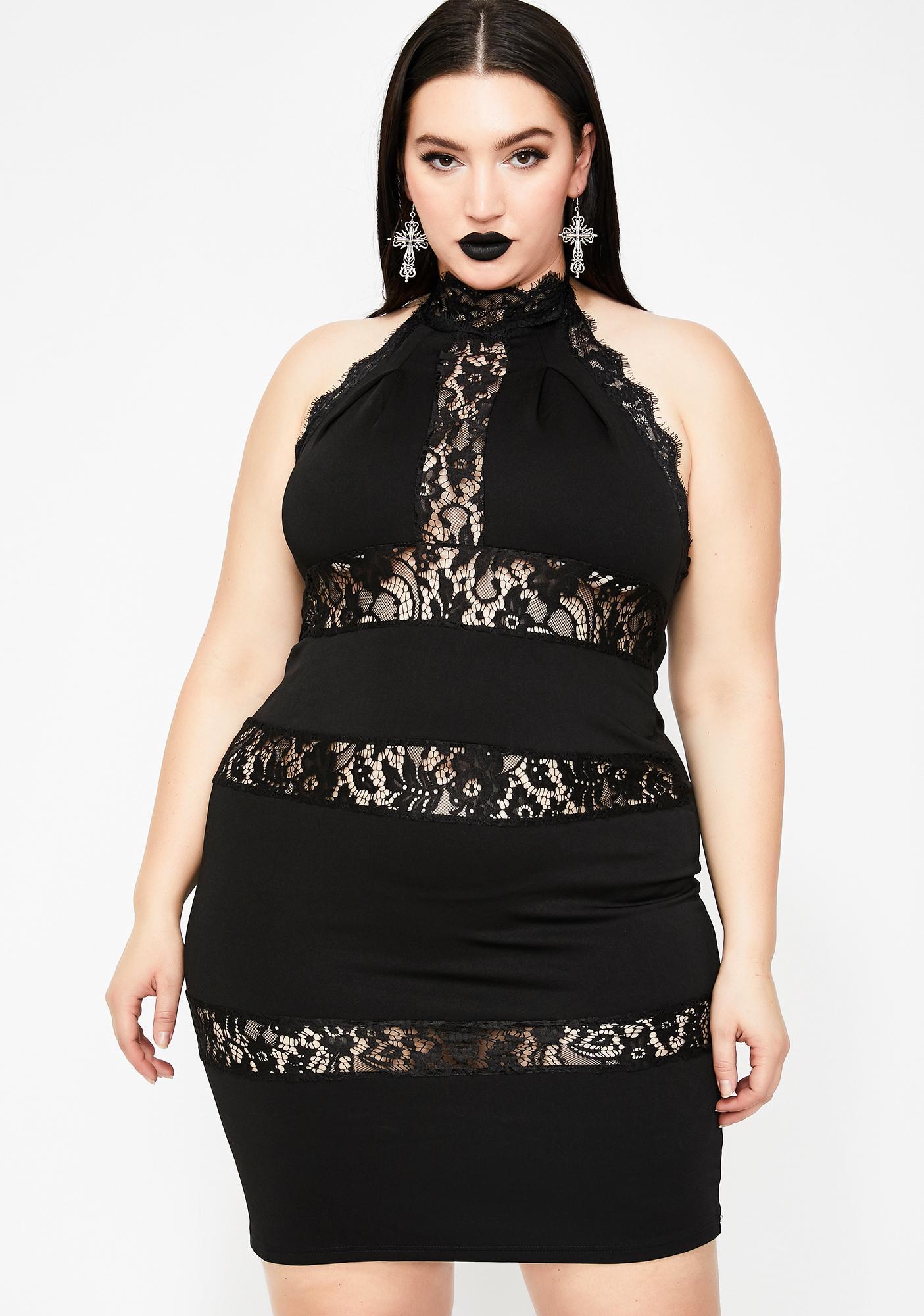 Supreme Sass Halter Dress