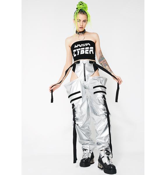 Namilia Silver Panty Trouser