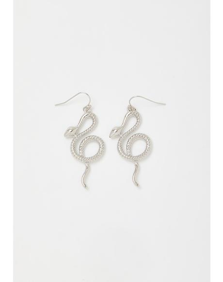Toxic Tendencies Snake Earrings