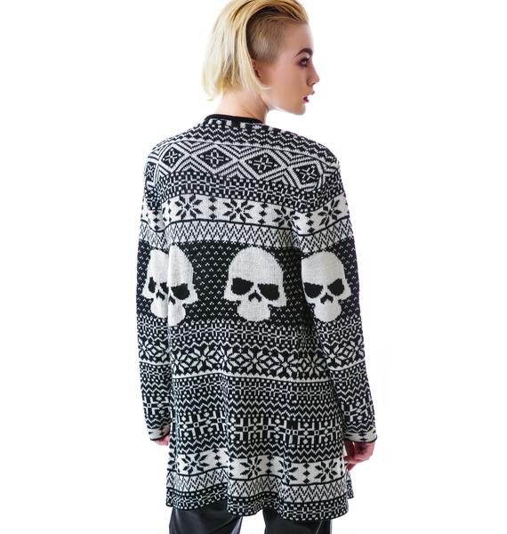 Iron Fist Ugly Christmas Cardigan