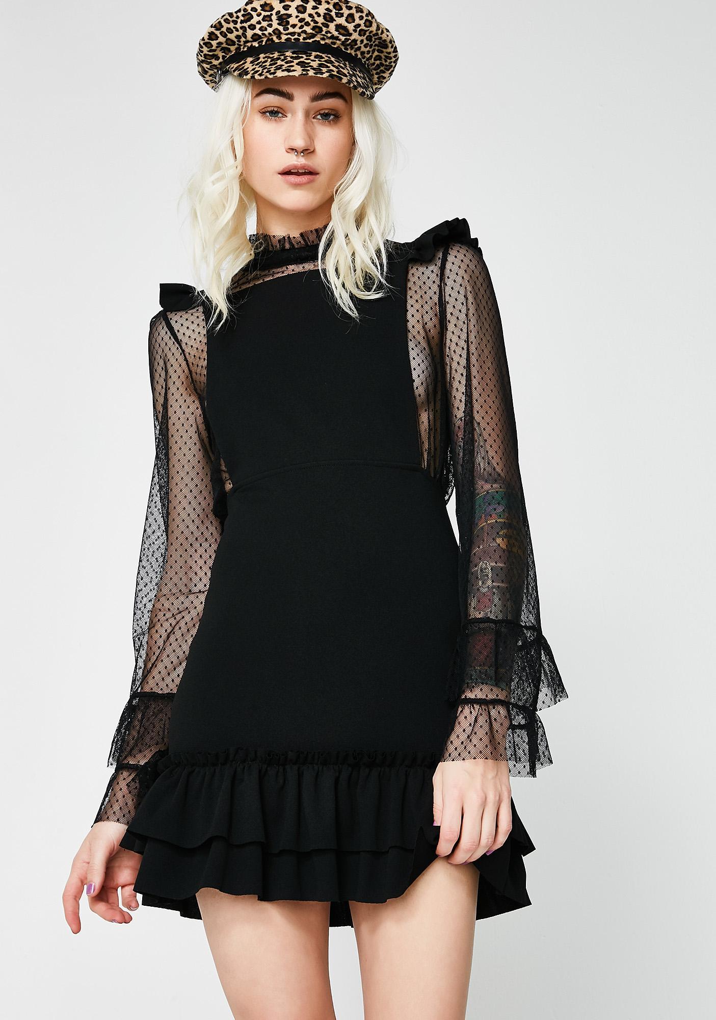 For The Frills Mini Dress