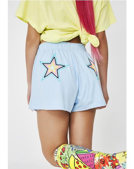 Starbright Golden Shorts