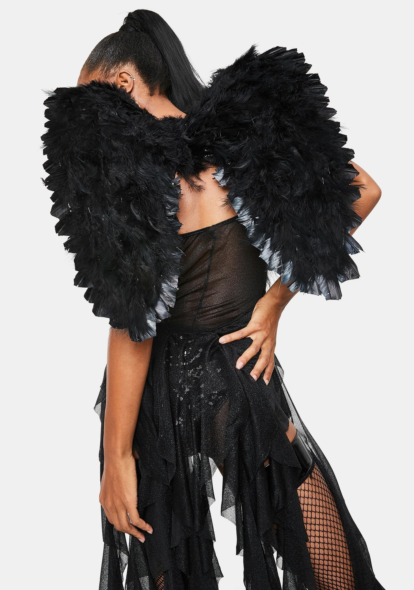 Roma Midnight Angel Feathered Wings