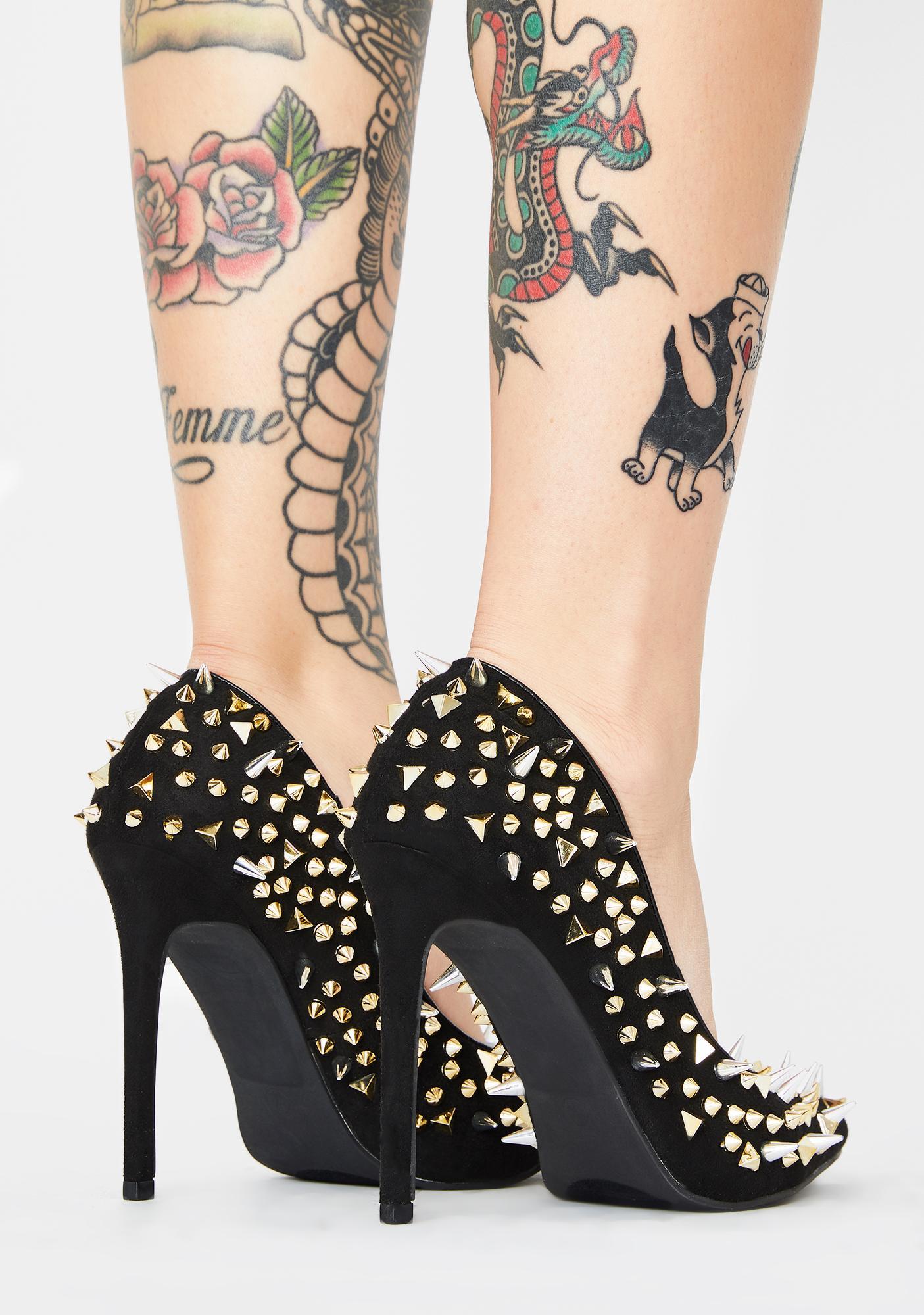 AZALEA WANG Flex Stiletto Heels