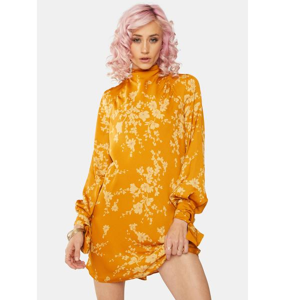 Free People Aries Floral Mini Dress