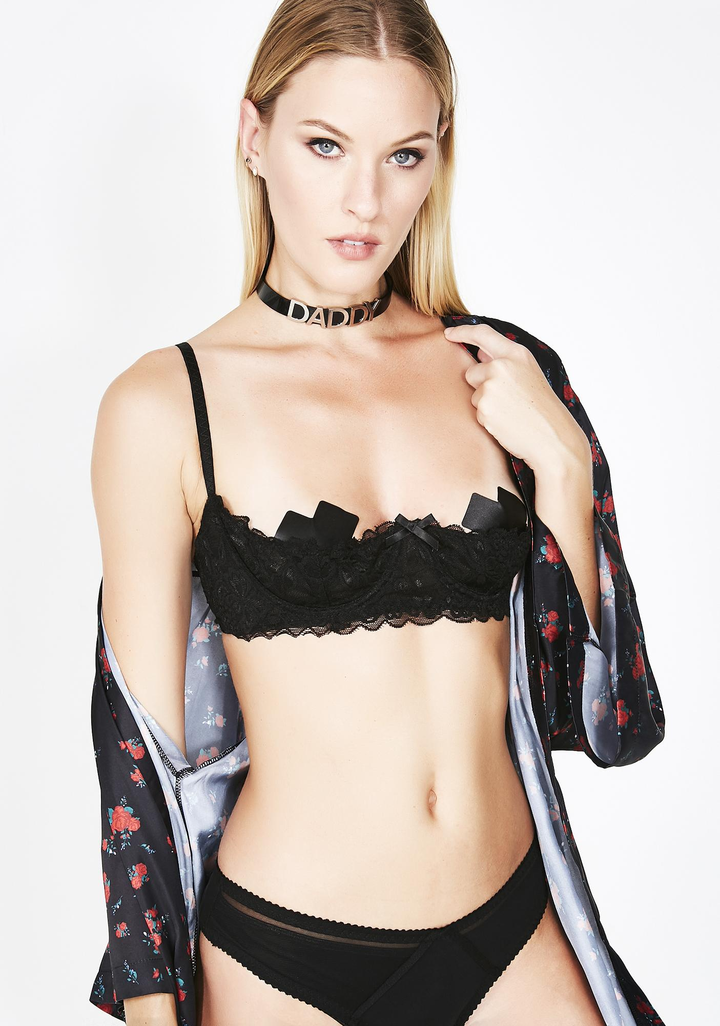 Night Heart's Desire Lace Bra