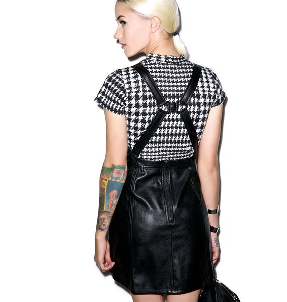 Evil Twin Hold Me Back Pinnie Dress