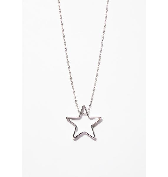 Shooting Star Necklace Set