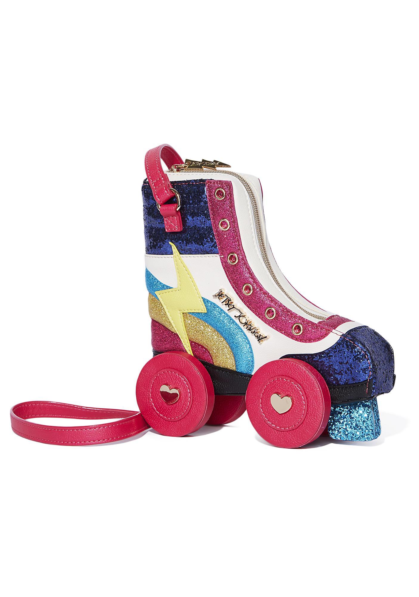 Betsey Johnson Rollergirl Crossbody
