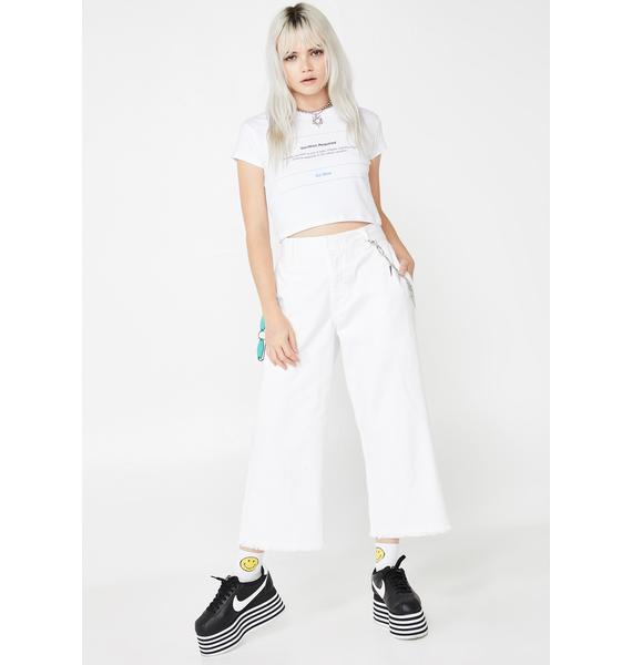 Untitled & Co Vacation Required Crop Tee