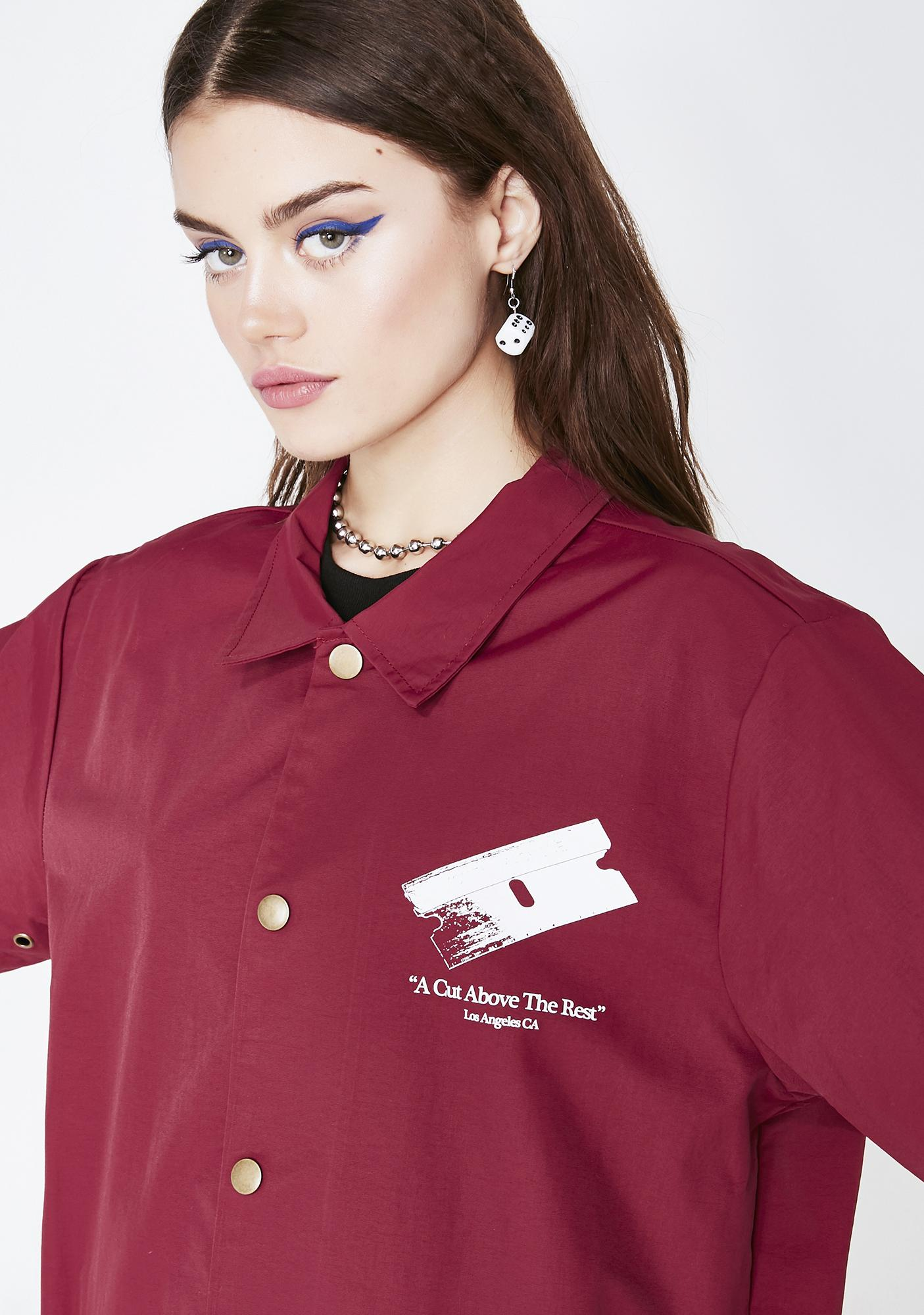 Youth Machine Cutters Coaches Jacket