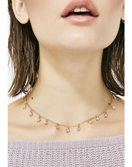 Star Baby Choker Necklace