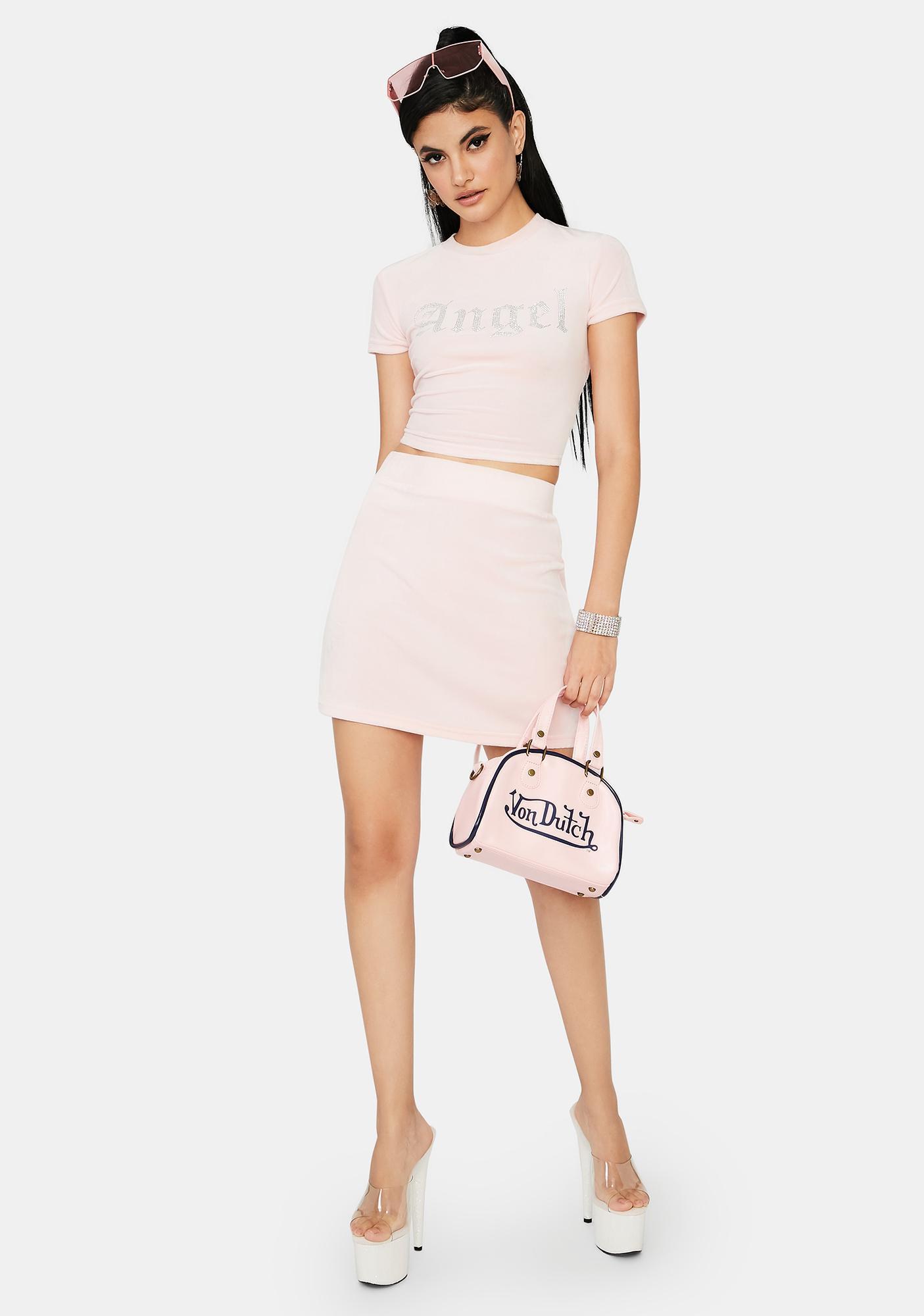 Icy Angel Bling Skirt Set