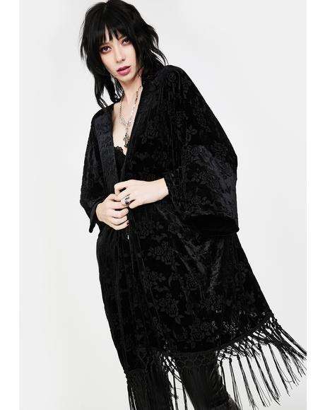 Starla Velvet Kimono