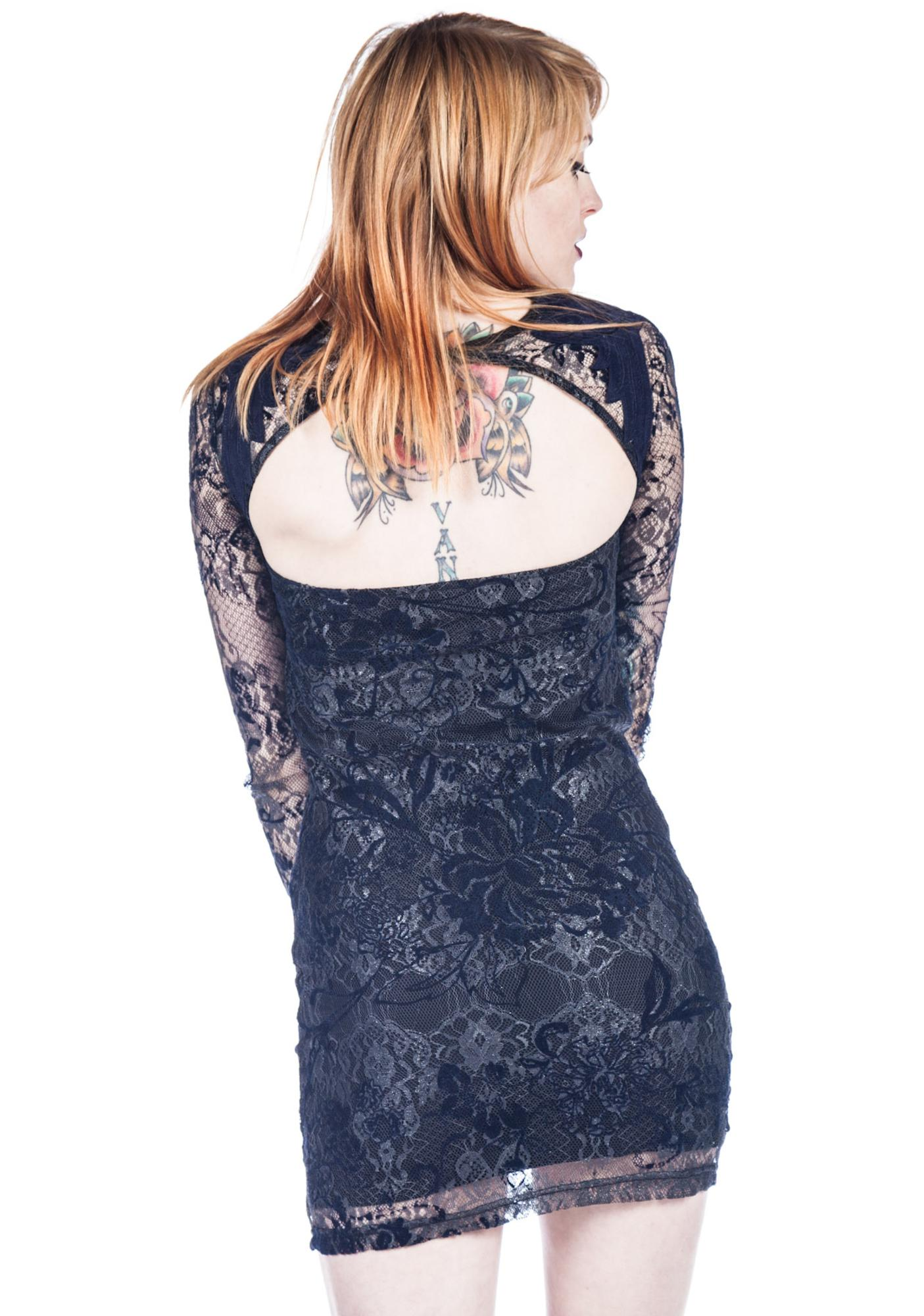 Somedays Lovin Dark Eyes Bodycon Dress