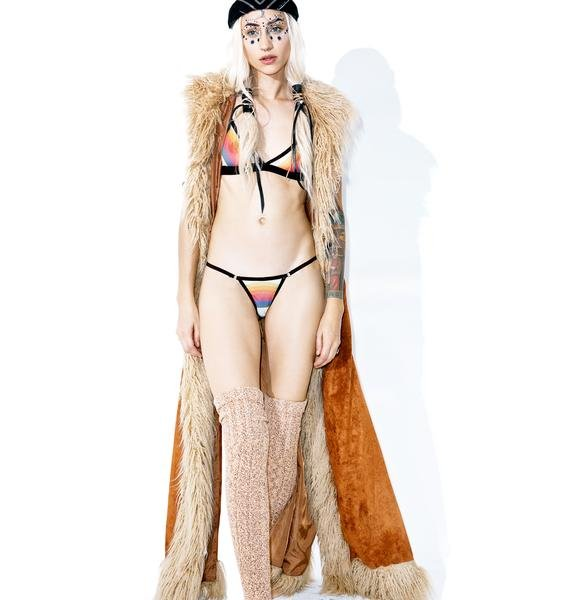 Save the Parade Rainbow Uschi Undie