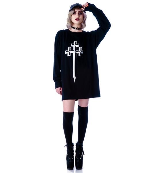Long Clothing Steel Long Sleeve Tee
