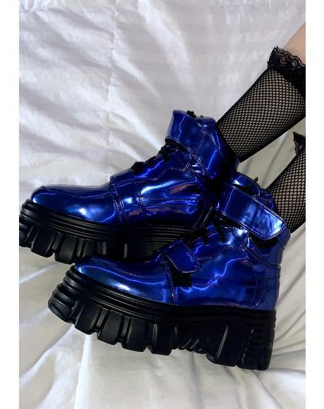 Gravity Trip Metallic Sneakers