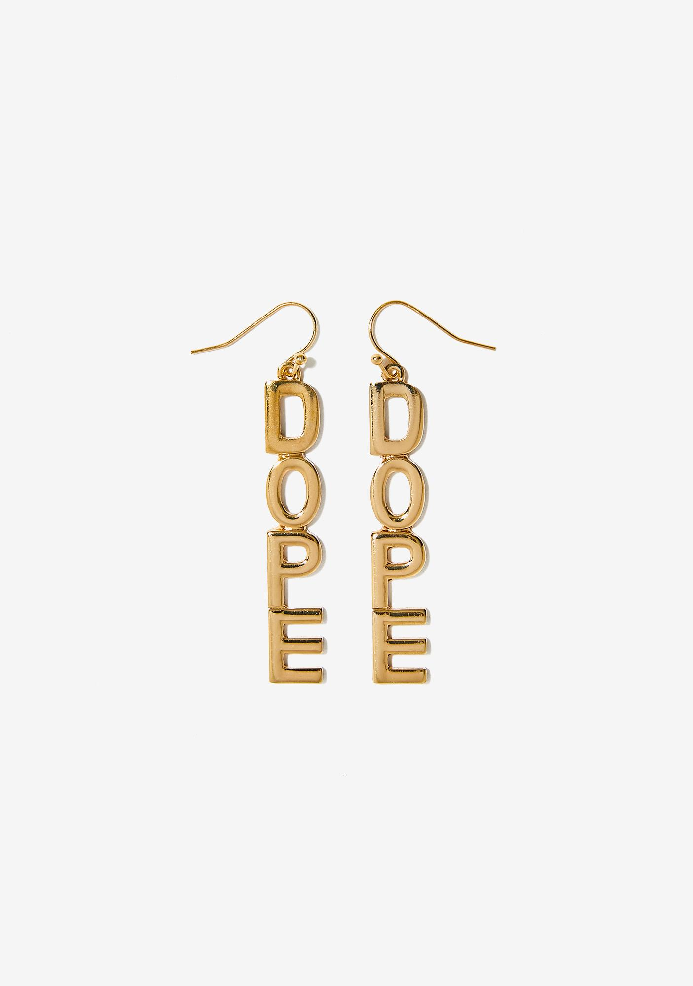 Dope Hunny Drop Earrings