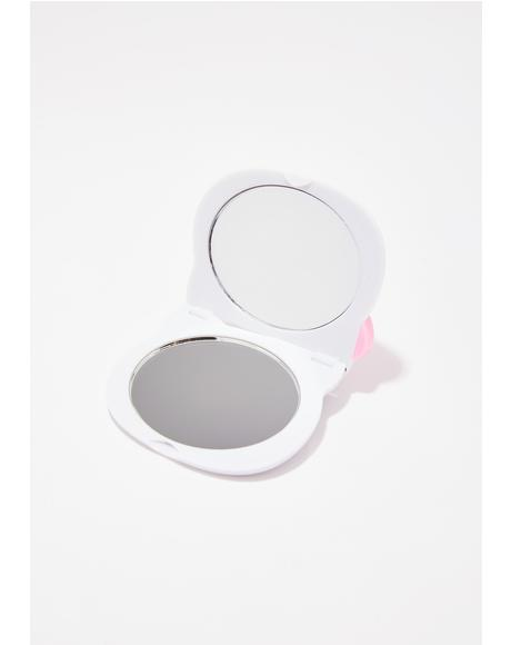 Summer Hello Kitty Face Mirror