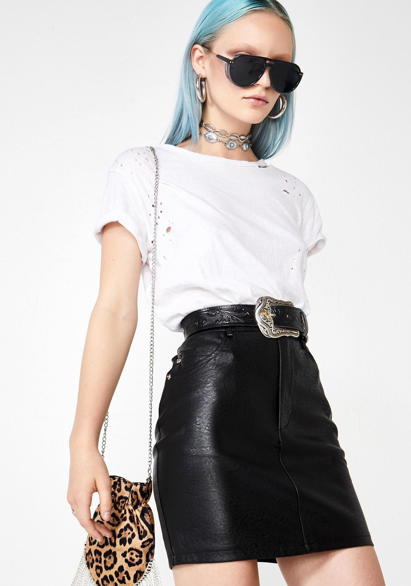 Thank U Next Mini Skirt