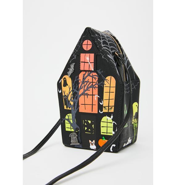 Betsey Johnson Scary Stories Crossbody Bag