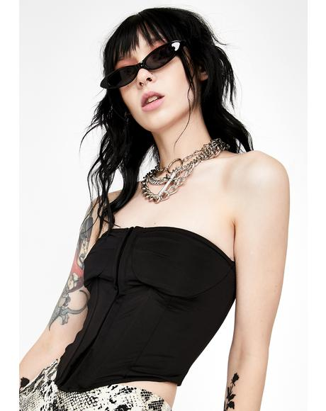 Wicked Ruling Romance Corset Top