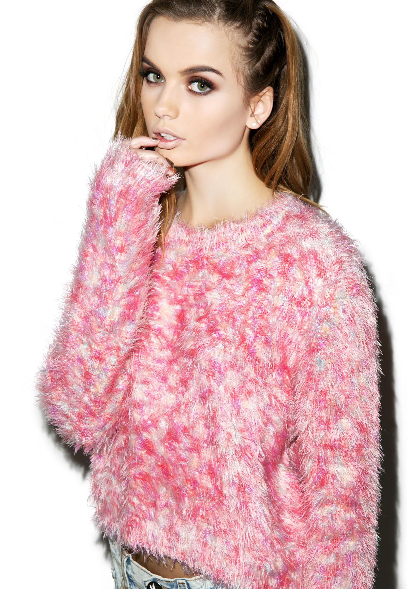 Mink Pink Fairy Floss Jumper