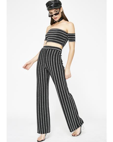 Oh My Glitter Stripe Set