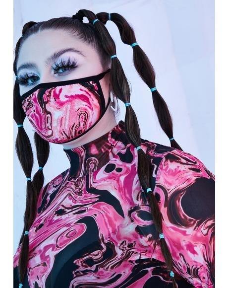 Lady Acid Dimension Face Mask