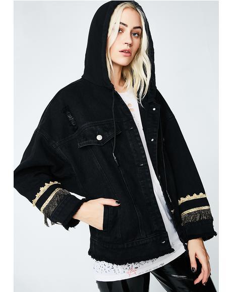 Too Good 4 U Hooded Jacket