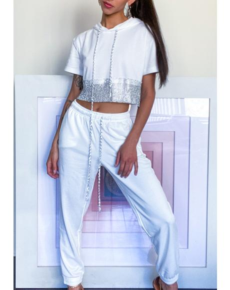 Icy Bold Bling Jogger Set