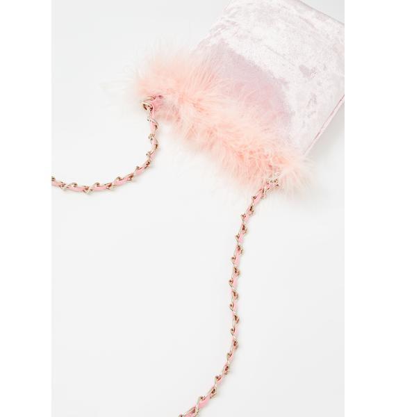 Sugar Thrillz A Total Betty Marabou Mini Bag