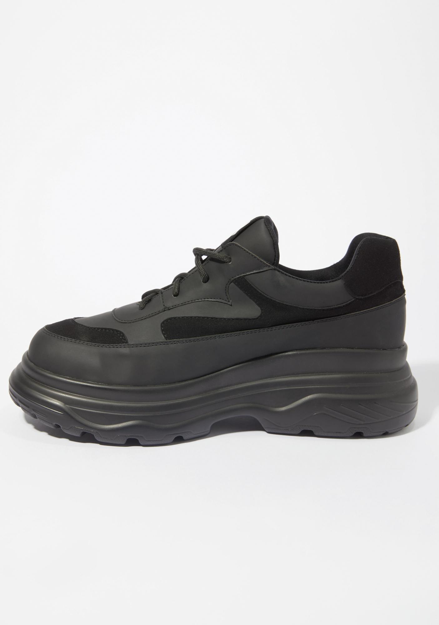 Koi Footwear Black Gyoubu Wire Chunky Sneakers