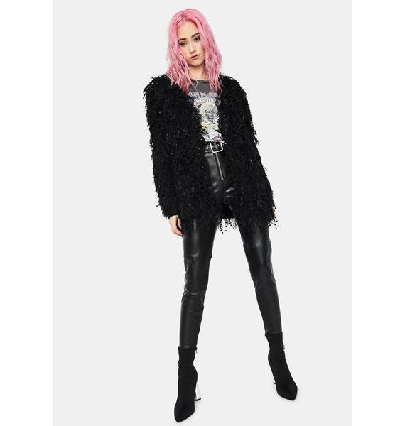 Out All Night Fringe Cardigan