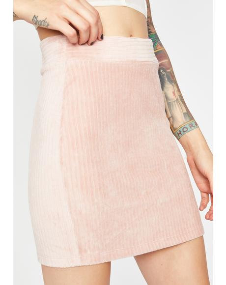 Baby Catch Feelings Corduroy Skirt