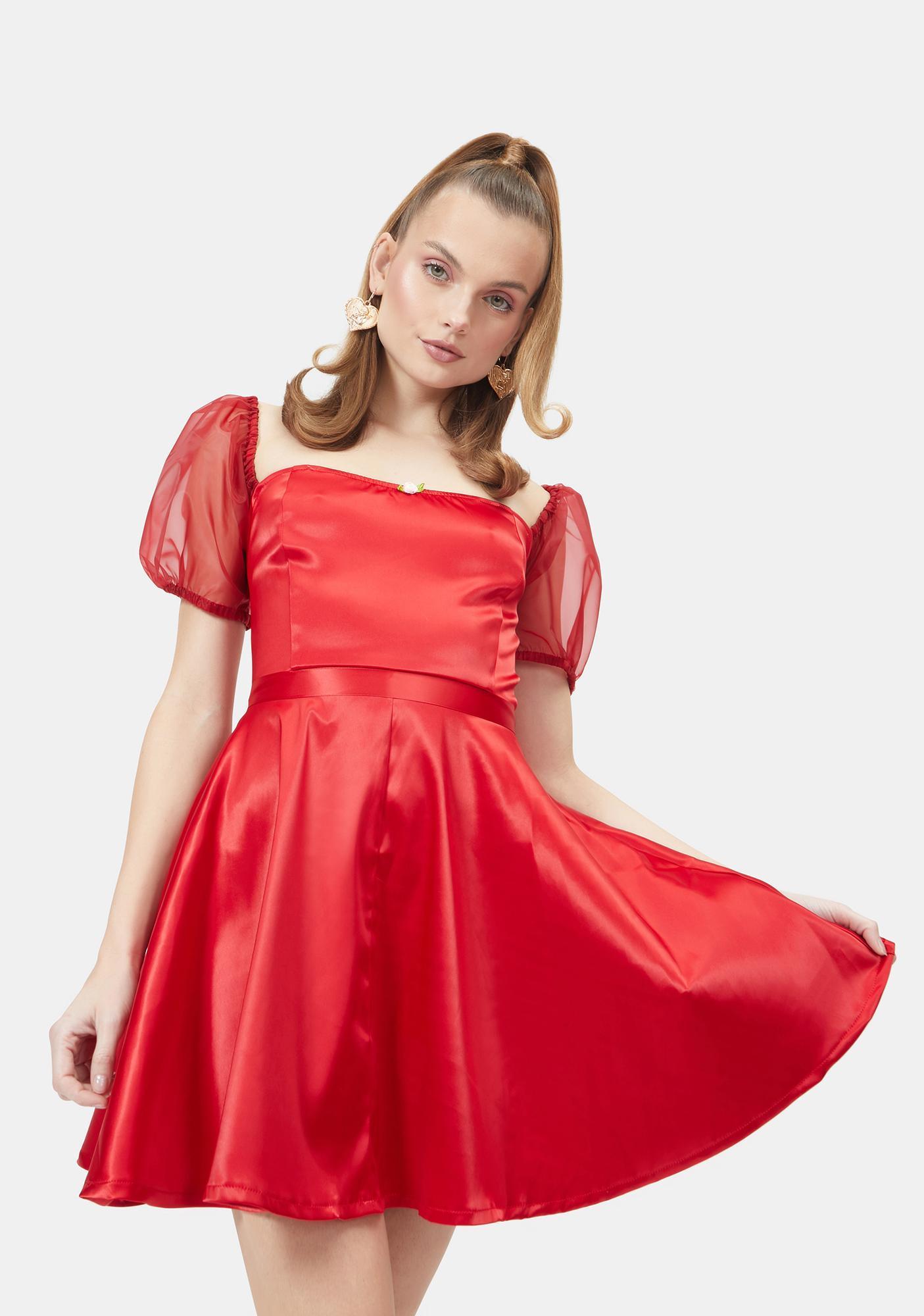 Sugar Thrillz Love Tender Adieu Babydoll Dress