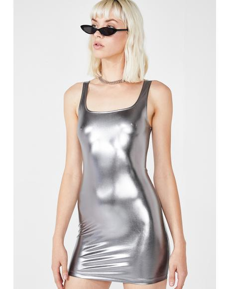 Rosie Metallic Dress