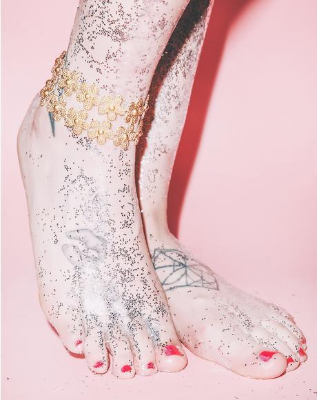 Daisy Anklet Set