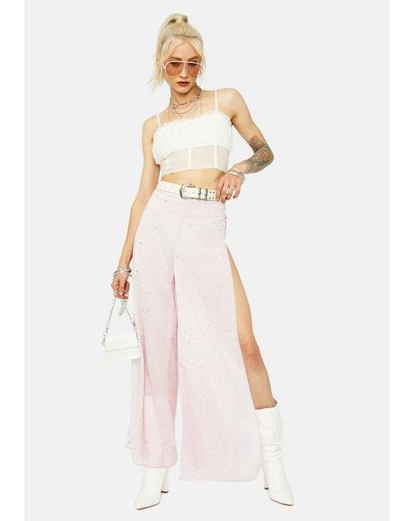 Shimmering Splendid Wide Leg Pants