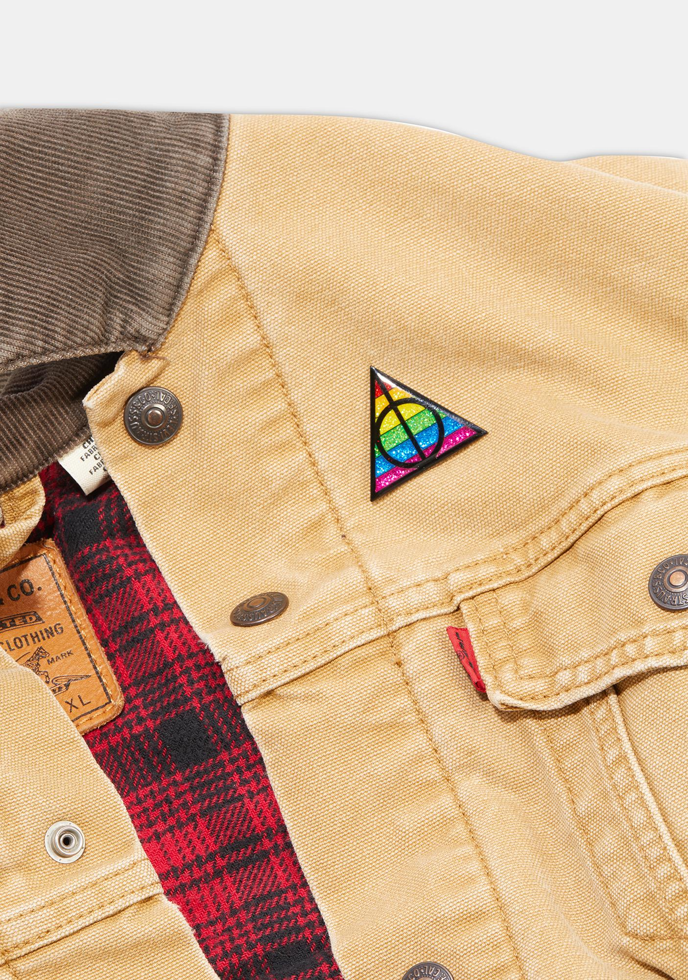 Geeky And Kinky Potter Pride Enamel Pin